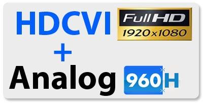HDCVI FULL HD + Analog