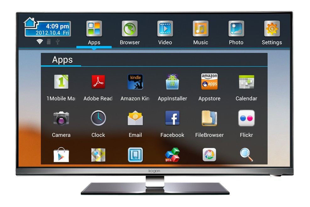 how to connect a pc to a kogan smart tv