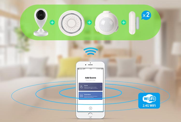 wifi smart kit alarm